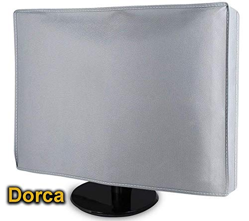 Dorca Silky Smooth Monitor Dust Cover for Samsung 27 inch (68.5 cm) LC27F390FHWXXL Curved LED Backlit Computer Monitor