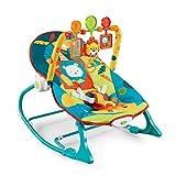 MAMAO Baby Rocker Sleeper, Relajante para el sueño del bebé con Suaves Vibraciones, 0-36 Meses Plegado Compacto para Almacenamiento o Viaje Silla Hamaca Asiento de bebé portátil