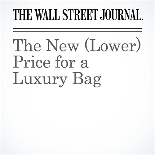 The New (Lower) Price for a Luxury Bag audiobook cover art
