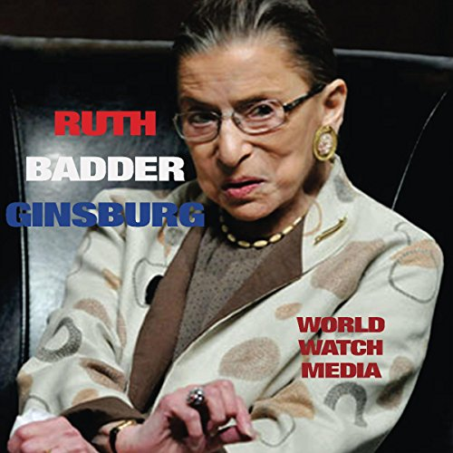 Ruth Bader Ginsberg audiobook cover art