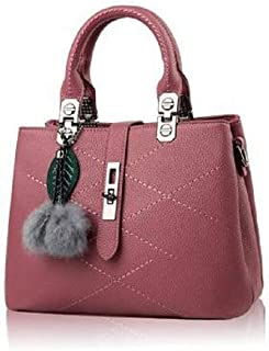 Leather Bag For Women,Wine - Tote Bags