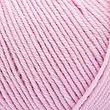 ggh Merino Soft | Lana Merino (Superwash) - sin mulesing - Ovillo de 50g - Apto para Tejer y Crochet | Color 132 - Puderrosa