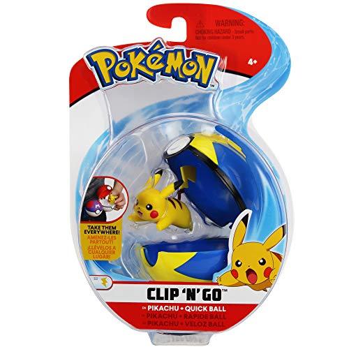 Bizak-63227222 Pokemon Clip N Go Assorment (Modelos Aleatorios), color surtido (63227222)
