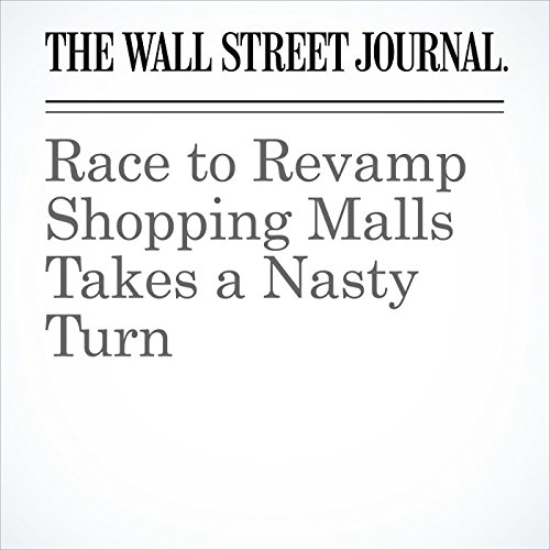 Race to Revamp Shopping Malls Takes a Nasty Turn copertina