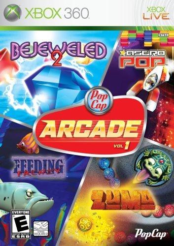 PopCap Arcade Vol. 1 (Bejeweled 2, Astro Pop, Feeding Frenzy, Zuma) by PopCap Games