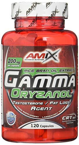 AMIX Gamma Oryzanol 120 Caps 0.2 200 g