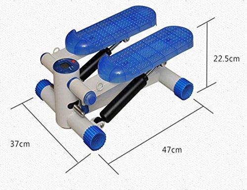 LMZZGAOYANQING Stepper fitness con resistenza bande LED display mostra regolabile portatile
