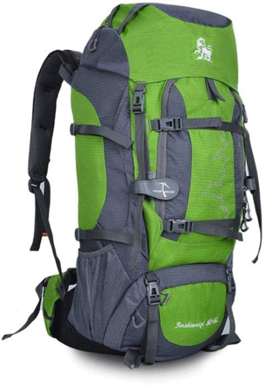 YLOVEK 80L Sport Outdoor Bergsteigenbeutel Männer Und Frauen Reisen Camping Schulter Bequem Zelt Rucksack B07Q7Q2VFB  Sonderangebot