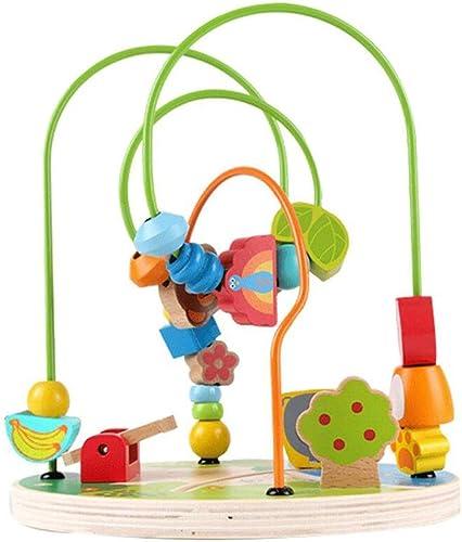 LLRDIAN Vergnügungspark um Perlen 1-3-6 Jahre alt Baby Baby Intelligenz Größe Perlen Kinder Lernspielzeug
