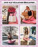 GYMTEX Sport Leggings Damen Blickdicht, High Waist und Seamless für Yoga und Fitness I Sportleggins Damen Lang in Grau oder Rosa - Pink Meliert GT1901 (M, Pink) - 5