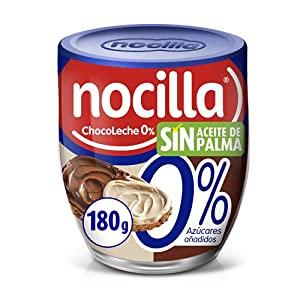 Nocilla Chocoleche 0% Azucare anadidos, sin Aceite de Palma, 180g