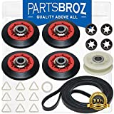 4392067 Dryer Repair Kit for 27-in. Whirlpool Dryers by PartsBroz - Replaces Part Numbers AP3109602, 2015,...