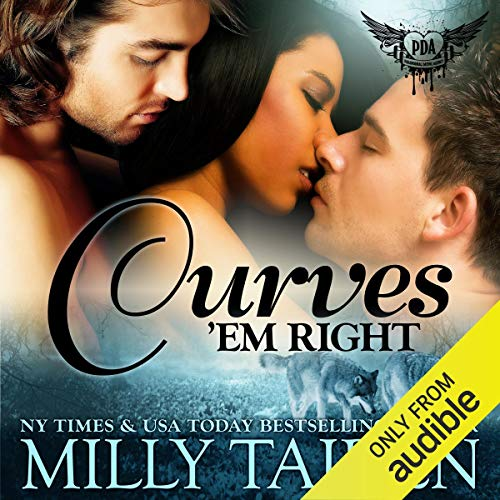 Curves 'Em Right audiobook cover art
