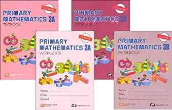 Primary Mathematics Grade 3 SET--Textbooks 3A and 3B, Workbooks 3A and 3B