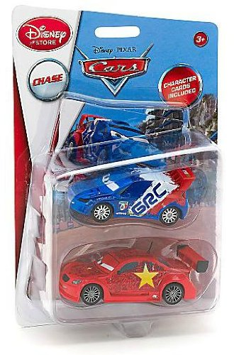 Disney Pixar Cars 2 - Disney Store Exclusive - 1:43 Scale - Raoul Caroule and Long Ge