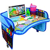 CarSeat Tray -Toddler Travel Tray Guaranteed to Keep Kids Occupied & Entertain for Hours, Prevent Frustration...