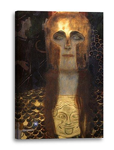 Impresión sobre Lienzo (80x120cm): Gustav Klimt - Minerva o Pallas Atenea