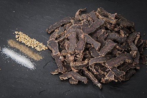 New Biltong Original Sliced luftgetrocknetes – Beef Trockenfleisch – Proteinreicher Snack aus geschnittenem Rind – 1 kg