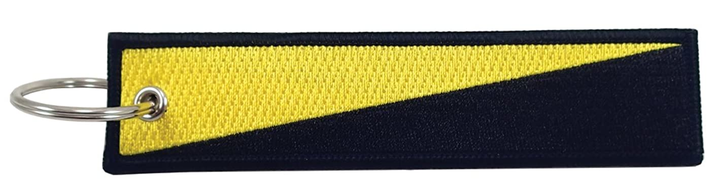 Luso AnCap Flag Key Chain, 100% Embroidered qkjvnimenzb134