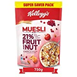 Kellogg's Muesli with 21% Fruit and Nut Pouch, 750 g