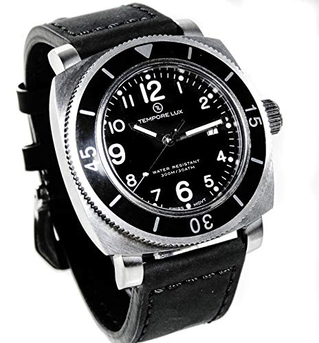 Tempore Lux V One Swiss Quartz Black