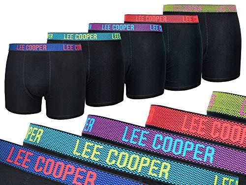 Lee Cooper 5er Pack 37301 Herren Unterwäsche Boxershorts Trunks Baumwolle 168 (XL)