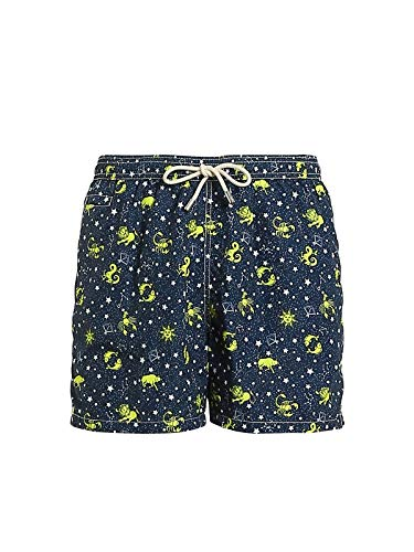 MC2 Saint Barth Luxury Fashion Herren LIGHTINGMICROCSTE61 Blau Polyester Badeboxer | Frühling Sommer 20