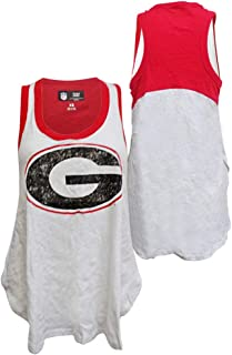 G-III Sports Georgia Bulldogs Womens Power Alley Tank Top T-Shirt