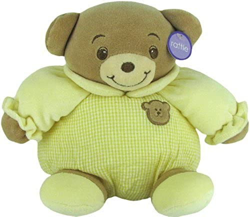 mejor opcion Baby Bow Playtime Bear amarillo 11 by by by Russ Berrie by Russ Berrie  tienda en linea