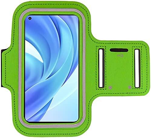 KP TECHNOLOGY Xiaomi Mi 11 Lite Brazalete Case - Para Correr, Ciclismo, Senderismo, Piragüismo, Caminar, Equitación y otros Deportes para Xiaomi Mi 11 Lite (Blanco)
