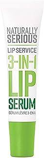 Naturally Serious - Lip Service 3-in-1 Natural Lip Serum | Clean Skincare, Vegan, Cruelty-Free, Gluten-Free (.5 fl oz | 15...