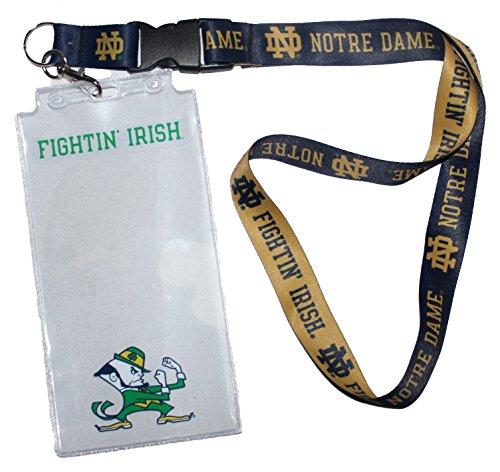 'WinCraft Snack-Schale Notre Dame Fighting Irish NCAA identifikationstechnik Halter mit Lanyard