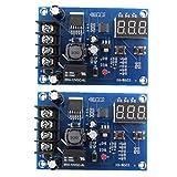 Sanfiyya Carga de la batería del módulo de conmutador Junta XH-M603 12-24 Control de Voltaje de Carga Protectora de Ajuste 2 Piezas de Dispositivos de Control Industrial