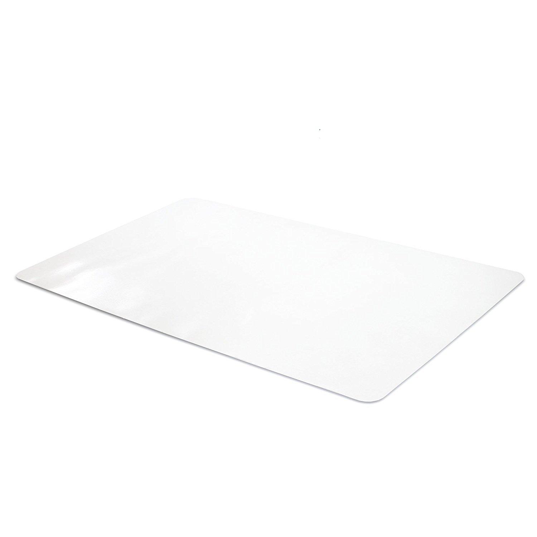 Office Desk Mat Clear Textured
