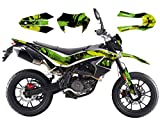 Race-styles Adesivo compatibile con KSR Moto Generic TR 125 Supermoto Graphics Decor