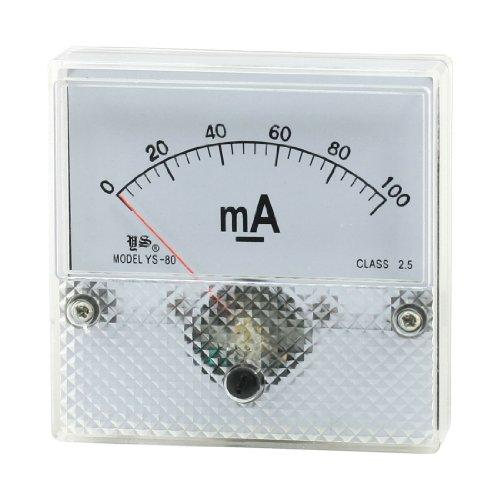 Aexit YS-80 DC 0-100mA Feinabgleich-Messgerät Stromzähler Amperemeter (1068241b2663871524f2dccd54a28304)