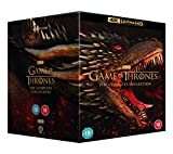 Game Of Thrones: Seasons 1-8 4K Ultra HD [2019] [Region Free] [Blu-ray]