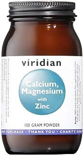 Viridian Calcio Magnesio Zinc Con Vitamina C. Polvo 100 G 313 g