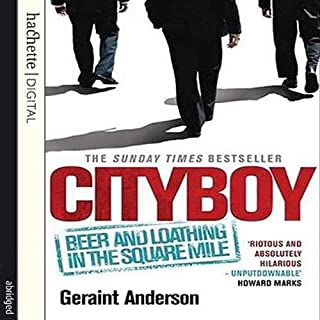 Cityboy audiobook cover art