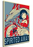 Instabuy Poster Studio Ghibli Propaganda Spirited Away