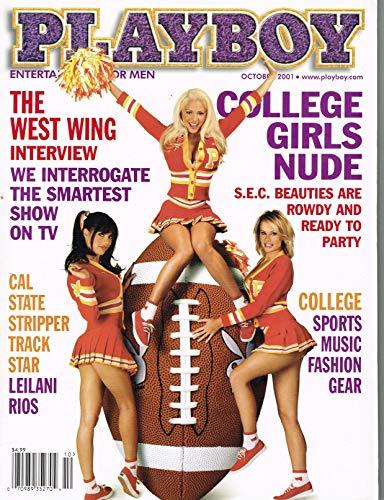 Playboy Magazine, October 2001 by Playboy