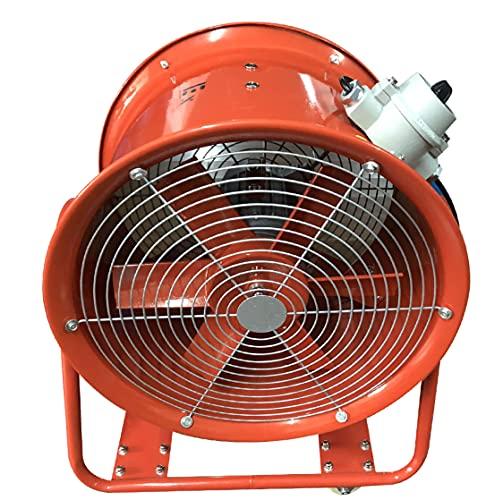 ATEX - Ventilador axial para obras (9900 m³/h)