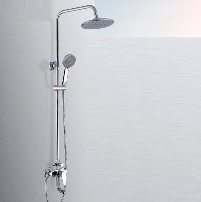 LWUDI Duscharmatur Regendusche Duschsystem, Hand-Duschkopf des Badezimmerfilters, alle Bronzedusche Hahn, showerheads u. Handduschen, justierbare Duschkpfe Hand