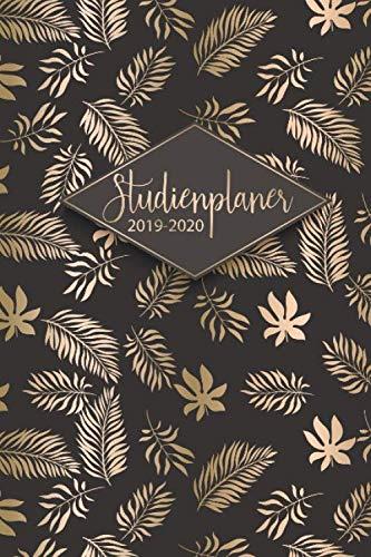 Studienplaner 2019-2020: Der Studentenkalender, Studienplaner und Semesterkalender 2019 - 2020 - Terminplaner, Timer und Kalender von September 2019 bis Oktober 2020