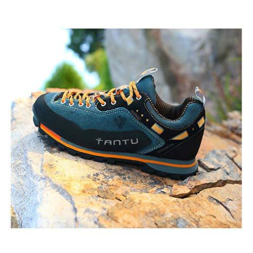 FACAI Unisex Sports Outdoor Hiking Shoes Trekking Sports Sneakers Waterproof Hiking Boots Mountain Climbing Shoes Men Hunting,Yellow-40