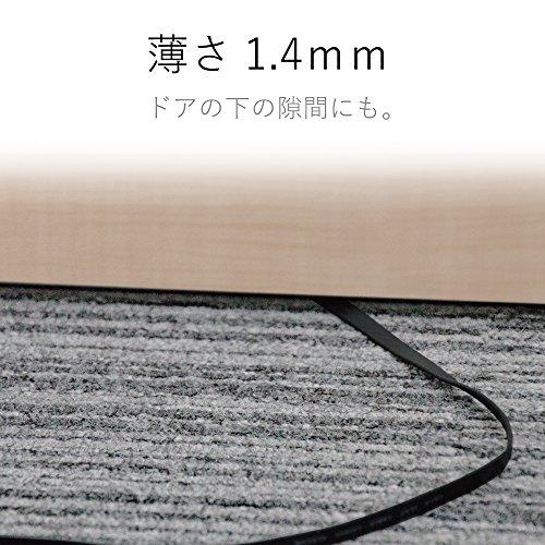 『エレコム LANケーブル 20m スーパーフラット CAT6準拠 ブラック LD-GF/BK20』の6枚目の画像