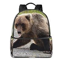 バックパック リュックサック 道の熊 超大容量 多機能 耐衝撃 旅行 子供 男の子 女の子 男女兼用 通学 遠足 小学生 中学生 ビジネス カジュアル リュック