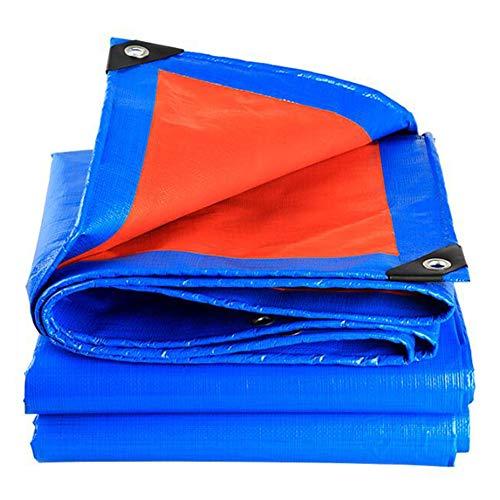 Lona Impermeable,Lona De PE De Tejido, Cubierta Protectora Impermeable A Prueba De óxido,Ojales De Metal,para Invernadero De Camping Al Aire Libre(Color:T1,Size:5 × 6 m)
