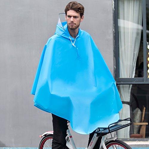 Regenjas regenjas fiets EVA poncho dames mannen individuele student paardrijden mannelijk waterdichte transparante kap milieuvriendelijk mode