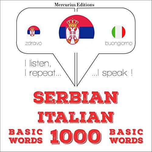 Serbian - Italian. 1000 basic words cover art
